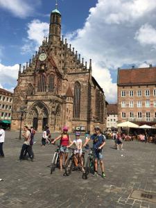 Biking at or in the surroundings of Ferienwohnung Nürnberg Zentrum