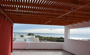 Un balcón o terraza en Complejo Onias