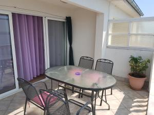 A porch or other outdoor area at Apartments Mirjam