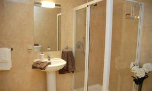 A bathroom at The Western Citypoint Apartments