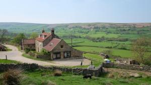 A bird's-eye view of Bank House Farm