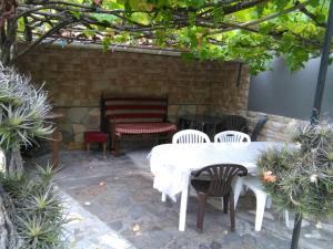 A porch or other outdoor area at Casa Ria Leda