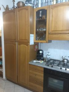 A kitchen or kitchenette at A casa di Nora