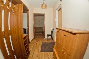 Een zitgedeelte bij Apartament's Mayorov House at Maksima Gorkogo 158