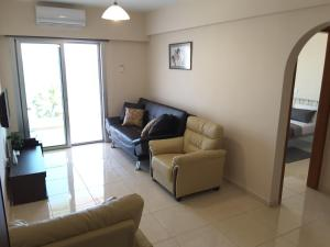 A seating area at Seaside Luxury Apartment Lighthouse 47