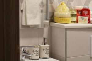 Koupelna v ubytování Modern Apartments Iva