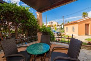 A balcony or terrace at Apartments Kori