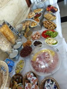 Завтрак для гостей Hotel Fiammanti