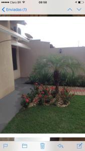 A garden outside Sua casa fora de casa