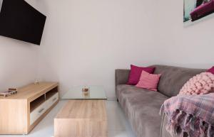 Posezení v ubytování Apartment Flawless