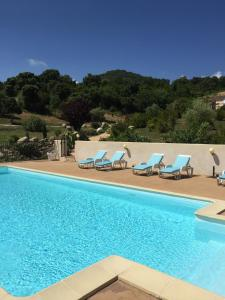 The swimming pool at or near Residence San Micheli