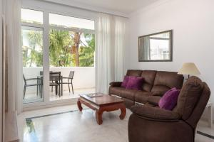 Гостиная зона в Apartamento Marbella Real 3D