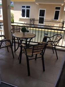 A balcony or terrace at Appartement Résidence Adam Beau Manguier