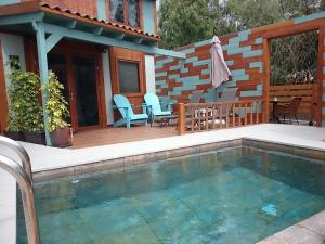 The swimming pool at or near Las Hermanas I & II
