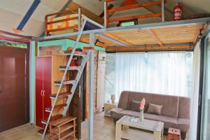 Posezení v ubytování Green House