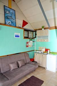 Kuchyň nebo kuchyňský kout v ubytování Green House