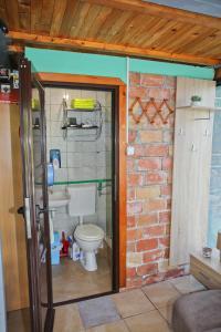 Koupelna v ubytování Green House