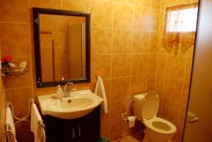 A bathroom at Mul Edom Dead Sea Apartments
