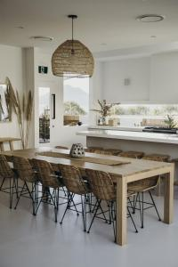 A kitchen or kitchenette at Salt at Shoal Bay