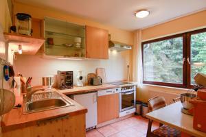Küche/Küchenzeile in der Unterkunft Gesundheitshaus Rittmeyer