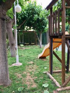 Children's play area at Mediterranean flats