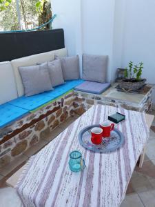 Posezení v ubytování Filoxenia Apartments
