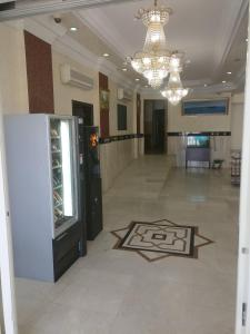 The lobby or reception area at Gulf Hotel Apartment