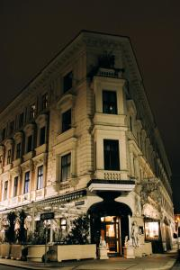 The building in which az apartmanhoteleket is located