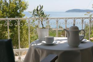 A balcony or terrace at Irida Aegean View-Philian Hotels and Resorts