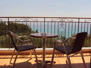 Balcony o terrace sa Anna Studios