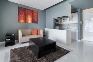 A seating area at KL Serviced Residences Managed by HII