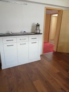 Küche/Küchenzeile in der Unterkunft Pension Dresdener Berge