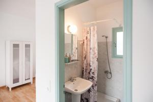 Ein Badezimmer in der Unterkunft Asterias