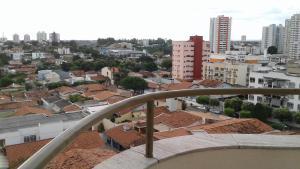 A balcony or terrace at Apartamento AV CPA