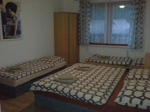 Postel nebo postele na pokoji v ubytování RD Dobre Pole