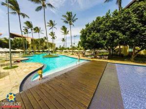 A piscina localizada em Marulhos Resort Porto de Galinhas (Muro Alto) ou nos arredores