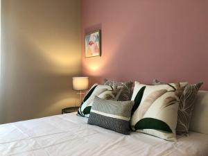 A bed or beds in a room at La casa de Perfecta