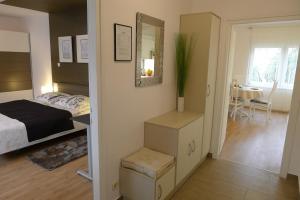 Posteľ alebo postele v izbe v ubytovaní Zola
