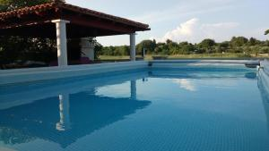 The swimming pool at or near Holiday Home Tereza