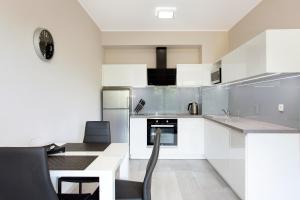 Kuchnia lub aneks kuchenny w obiekcie MS Apartments Silver IV