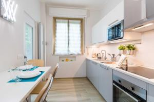 A kitchen or kitchenette at Isola Suite
