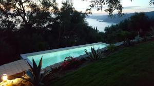 The swimming pool at or near Villa Olivia