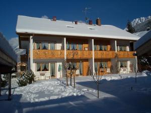 Ferienapartmenthaus Hubertushof im Winter