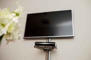 A television and/or entertainment center at Fishergate Apartments