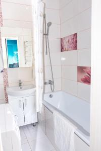 """Kúpeľňa v ubytovaní Studio """"Favorit"""""""