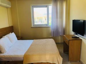 Lova arba lovos apgyvendinimo įstaigoje Ten Apart Hotel