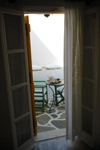 A balcony or terrace at Ostria