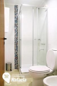 Un baño de Alquileres Temporarios Rafaela