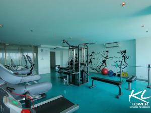 The fitness center and/or fitness facilities at Greenbelt Makati studio