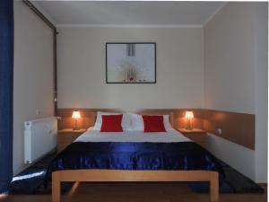 Krevet ili kreveti u jedinici u okviru objekta Apartments Marina